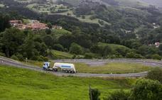 Un motorista de 25 años, 'cazado' a 203 km/h en la carretera de acceso al puerto de El Escudo
