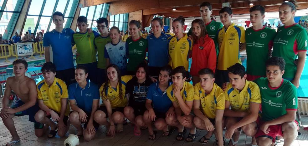 Ana Parte bate un récord regional absoluto en el campeonato de verano disputado en Cros
