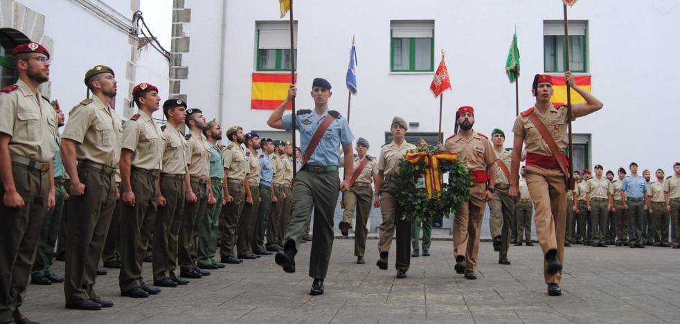La Residencia Militar de Santoña cierra la formación de 167 soldados