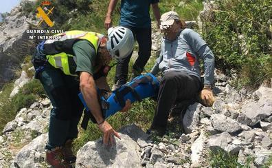 Un montañero herido mientras descendía el pico Cueto en Peñarrubia