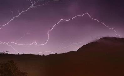 Alerta por tormentas en Cantabria