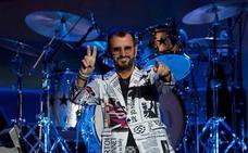 Ringo Starr desata la 'Beatlemanía' en el Palau de Barcelona