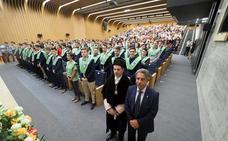 La Universidad Europea del Atlántico celebra la graduación de su primera promoción