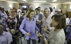 Cospedal pide apoyo a los militantes para «preservar el legado» del PP
