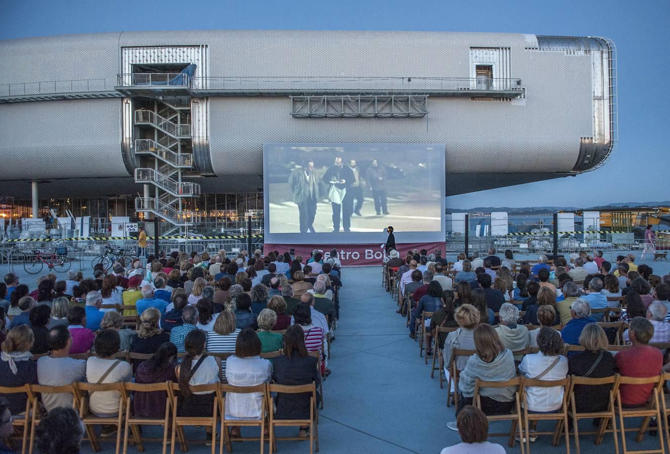 El Centro Botín inaugura el ciclo de cine al aire libre