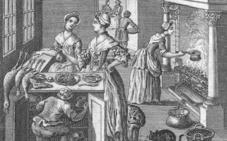 Una cocinera andaluza del siglo XVIII