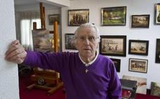 López Ayerdi lleva su pintura al Casino de El Sardinero en su adiós expositivo