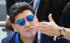 Maradona se ofrece para volver a dirigir a Argentina «gratis»