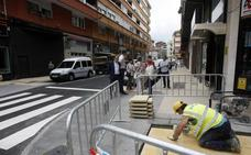 La calle Raimundo Cicero Arteche de Torrelavega estrenará imagen en unos días