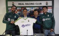 El Racing presenta a Jordi Figueras y Jon Ander