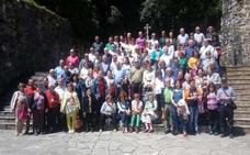 Los lebaniegos de Torrelavega visitan la comarca
