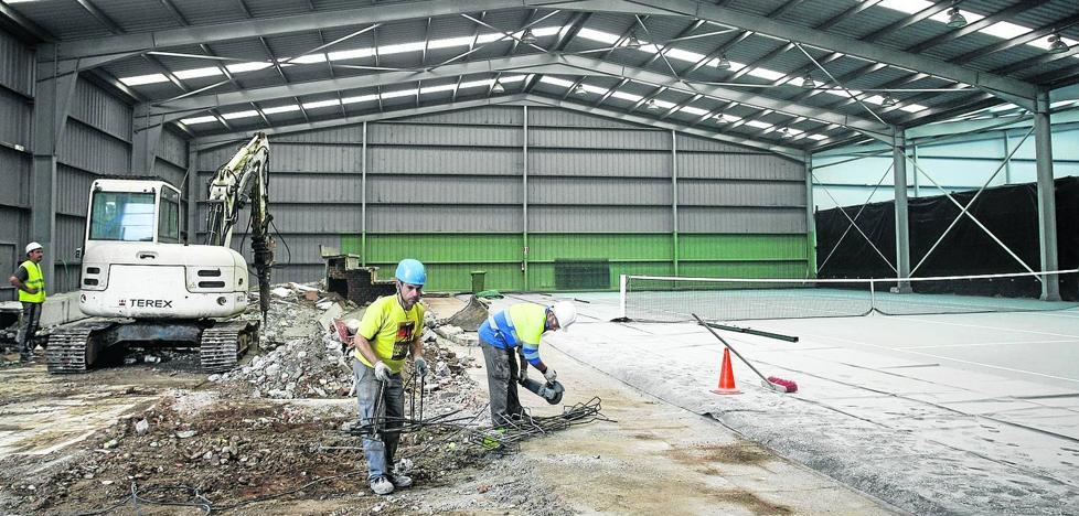 El gimnasio de La Lechera ya tiene aire acondicionado dos años después