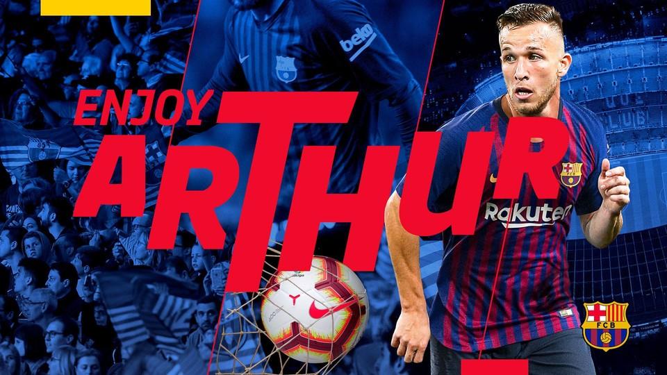 El Barça ficha a Arthur por 31 millones más nueve en variables
