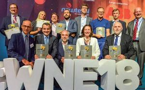 La cántabra Newtesol, premiada en la mayor feria mundial del negocio nuclear