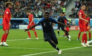 Francia se lanza de cabeza a la final