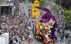 Okuda será el carrocista mayor de la Batalla de Flores