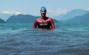 El cántabro Rubén Pérez cruzará a nado el Lago Ness