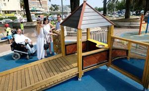 Santander revisará la accesibilidad de todos sus parques infantiles