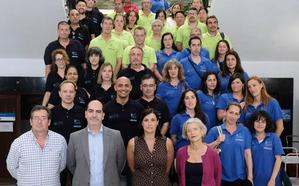 45 desempleados de larga duración participan en los talleres de empleo de Santander