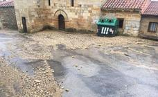 Daños en Montecillo por el granizo