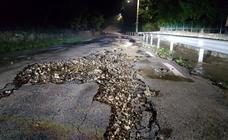 Las tormentas dejan importantes daños en Valderredible