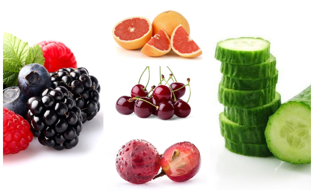 Frutas en el gin-tonic