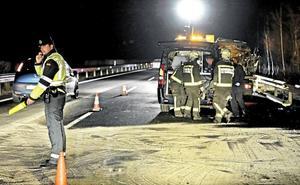 El número de fallecidos en las carreteras se duplica en el primer semestre y suma ya doce víctimas