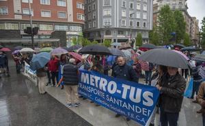 La Plataforma contra el MetroTus convoca una nueva manifestación este jueves