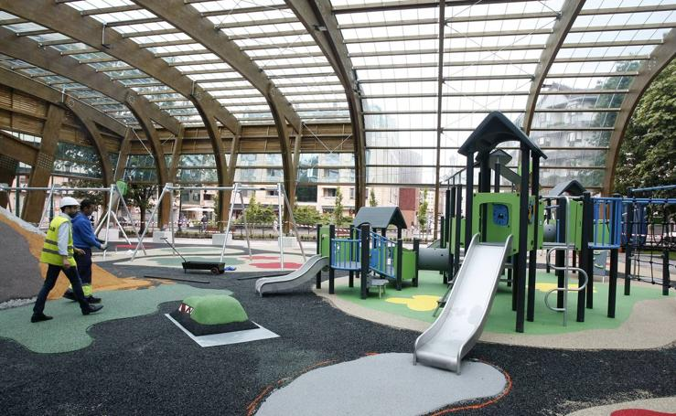 El nuevo parque Manuel Barquín se inaugura el viernes tras seis meses de obras