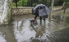 Caen más de 20 litros en Santander en apenas dos horas