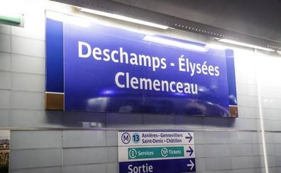 El metro de París celebra la victoria de Francia en el Mundial
