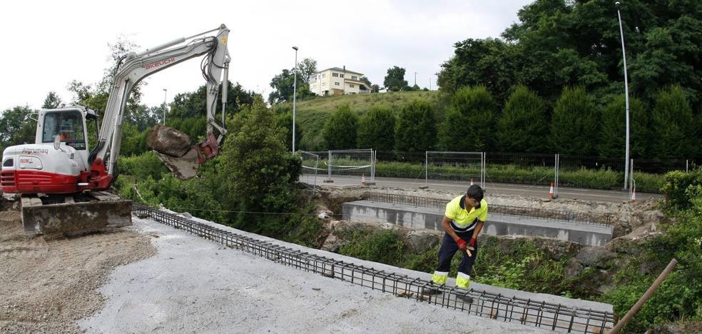 Un mes y medio para que los vecinos de Miravalles puedan conectar con el Bulevar Ronda