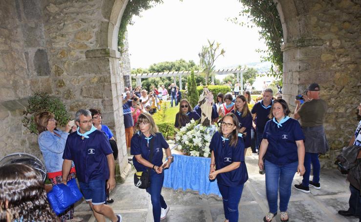 Procesión del Carmen en San Vicente