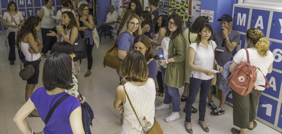 La primera fase de oposiciones a Secundaria deja el 10% de las plazas ofertadas sin ocupar