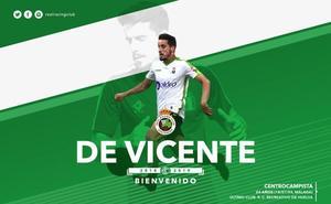 El Racing ficha al centrocampista Rafael de Vicente
