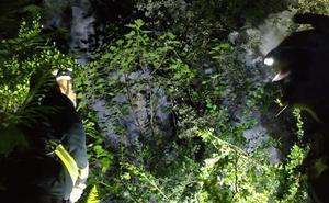 Un hombre se cae desde diez metros en la vía ferrata de Socueva y se rompe el fémur