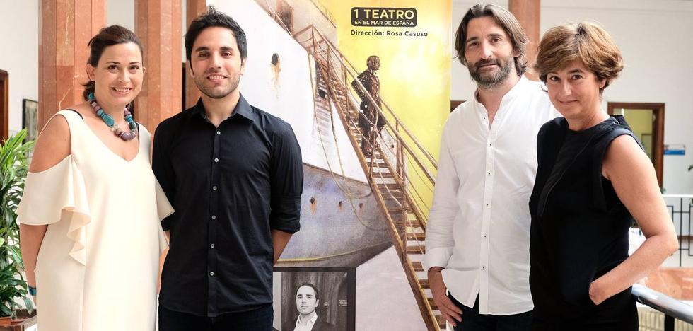 Santander estrena representaciones teatrales en medio de la bahía