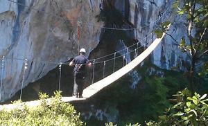 Peñarrubia acoge el fin de semana el encuentro de escalada 'Hermida Vertical'