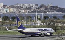 La huelga de Ryanair afectará a 12 conexiones con Cantabria
