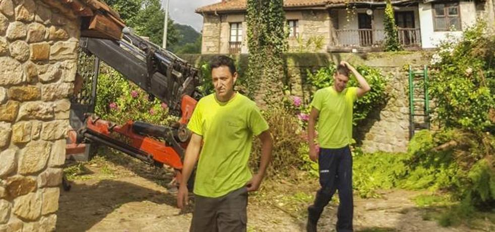 «Me he asustado cuando me han picado las avispas, sobre todo después de lo que pasó en Galicia»