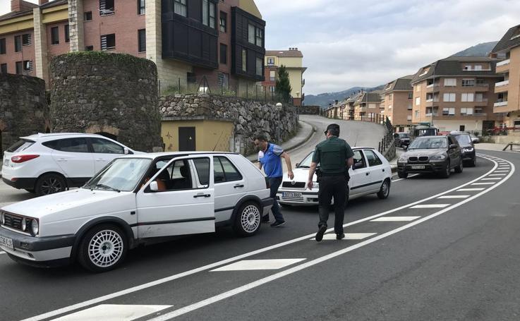 Controles de la Guardia Civil en Liébana para dar con Luciano Simón