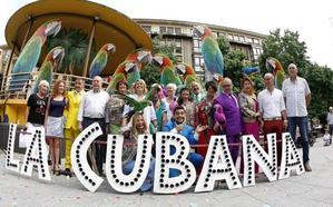 La Cubana presenta en la Plaza Mayor de Torrelavega su obra 'Adiós Arturo'