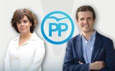 Dos estilos en ocho apuestas: retrato robot de los candidatos a liderar el Partido Popular