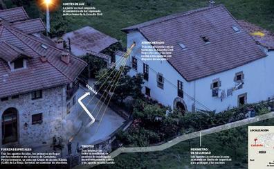 Detenido el fugitivo de Liébana en una emboscada cuando volvía a su casa