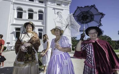 Los indianos retornan este fin de semana a la Finca del Marqués de Valdecilla
