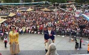 En directo, el chupinazo de la Semana Grande de Santander