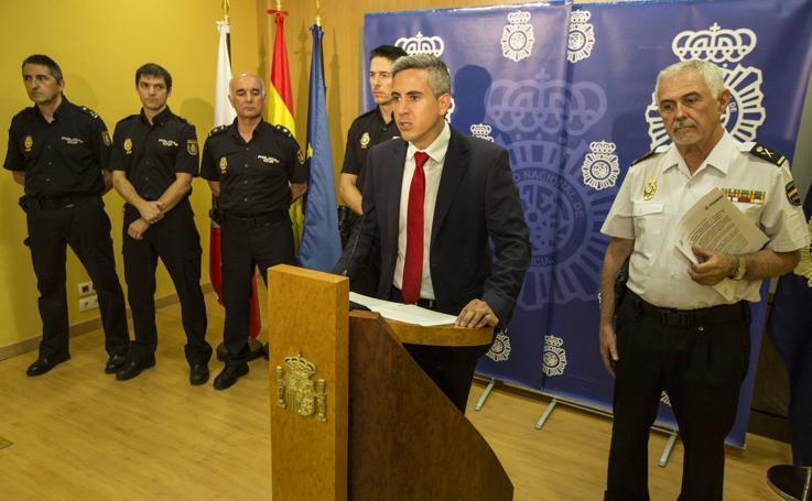Presentación del balance de la 'Operación Cicerone'