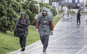 Cinco localidades cántabras entre las diez en las que más ha llovido este viernes de España
