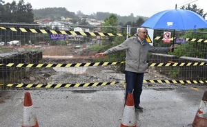 Mazón anuncia que en los próximos días se instalará la pasarela que salvará el río Besaya en Los Corrales