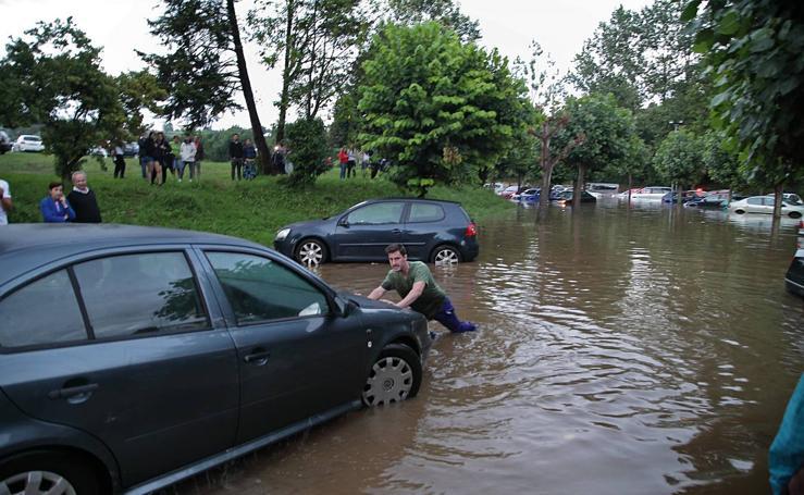 Las imágenes de la inundación